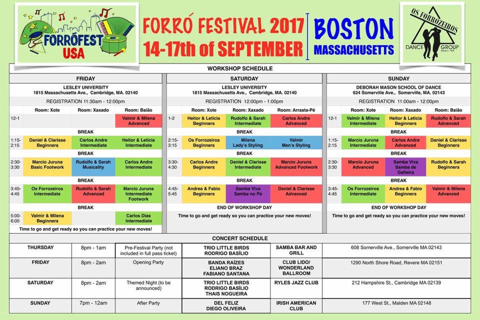 Forro Festival of Boston