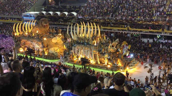 Giant Carnaval float 2020